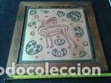 Antigüedades: CERAMICA ARTISTICA DE 20, 5X20, 5 CM - Foto 2 - 72252671