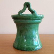 Antigüedades: CUCHARERO, CULLARER DE CERÁMICA CATALANA, DE FIGUERES.. Lote 72254491