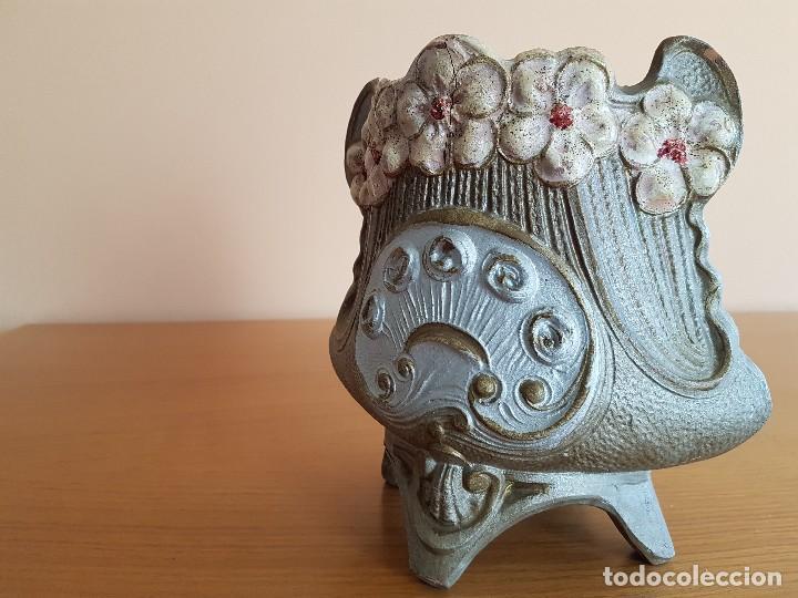 Antigüedades: Centro modernista, florero de cerámica, bellamente decorado. - Foto 3 - 72254859