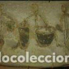 Antigüedades: CERAMICA ARTISTICA DE 15, 5X11 CM. Lote 72262187