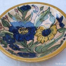 Antigüedades: PLATO EN CERAMICA VIDRIADA DE TOLEDO.. Lote 72263463
