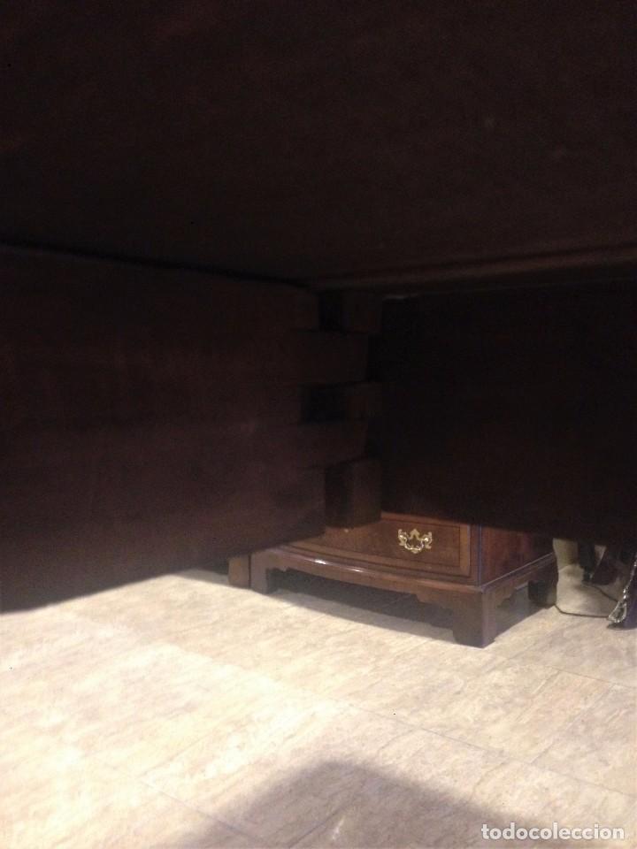 Antigüedades: Antigua mesa de caoba recién restaurada. Principio de silo XIX. - Foto 7 - 72277627