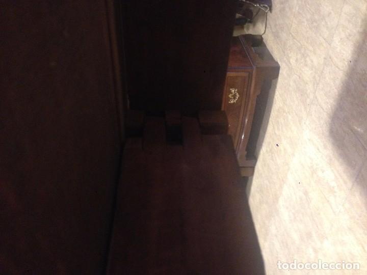 Antigüedades: Antigua mesa de caoba recién restaurada. Principio de silo XIX. - Foto 8 - 72277627