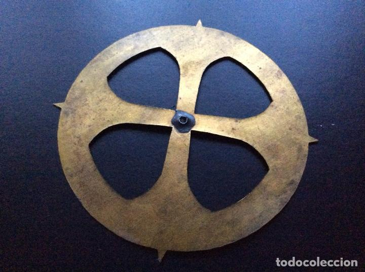 Antigüedades: ANTIGUA CORONA PARA IMAGEN RELIGIOSA OLOT - Foto 2 - 72313019