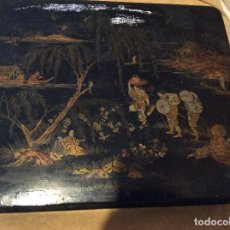 Antigüedades: ANTIGUA CAJA DECORACION CHINA. Lote 72367055