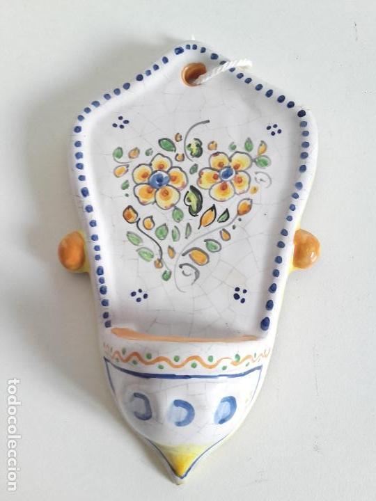 VENDITERA DE TALAVERA FIRMADA MACHUCA. MUY POCAS VENDITERA DE TALAVERA. (Antigüedades - Porcelanas y Cerámicas - Talavera)