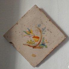 Antigüedades: BALDOSA DE CERAMICA DECORATIVA.. Lote 72380861