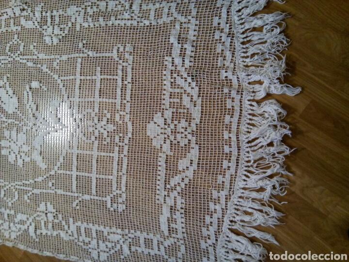 Antigüedades: ANTIGUA CORTINA DE MALLA MECANICA. (Rf:68/*) - Foto 4 - 105235676