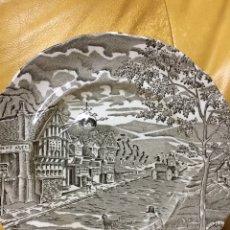 Antigüedades: PLATO DE PORCELANA. PONTESA ROYAL CHINA.. Lote 72391135