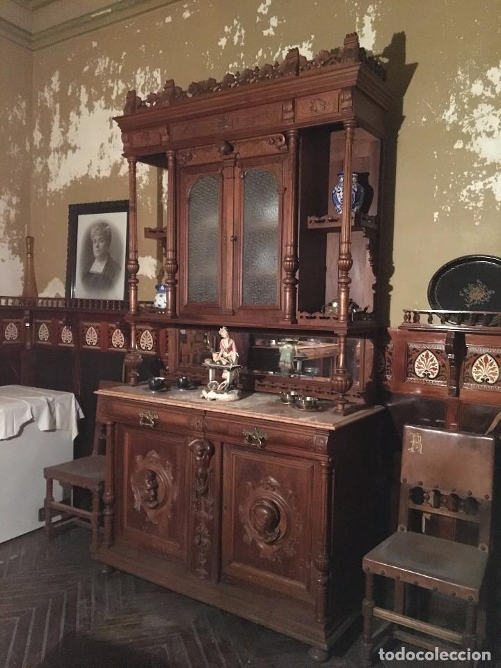 comedor antiguo completo - Comprar Antigüedades Varias en ...