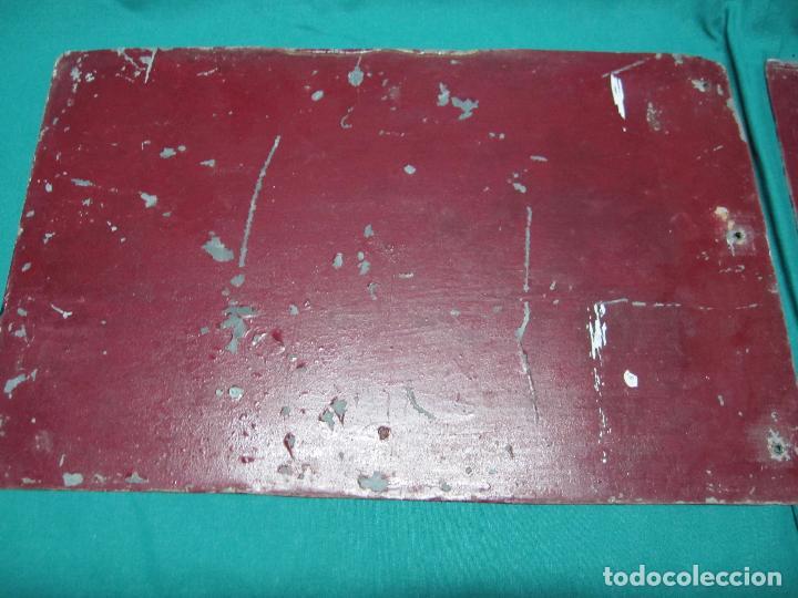 Antigüedades: ANTIGUA CHAPA PLACA PORTUGUESA COTO CAZA REGIME FORESTAL Nº 987 COUTADA DE CACA E PESCA - Foto 6 - 72416451