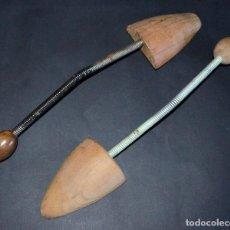Antigüedades: HORMAS ZAPATOS ANTIGUAS, MADERA.. Lote 131540643