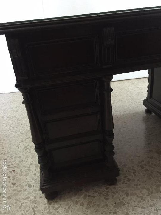Antigüedades: Mesa De Despacho - Foto 15 - 72442343