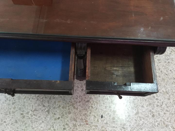 Antigüedades: Mesa De Despacho - Foto 16 - 72442343
