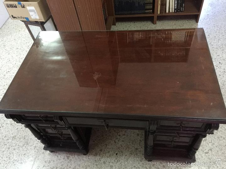 Antigüedades: Mesa De Despacho - Foto 20 - 72442343