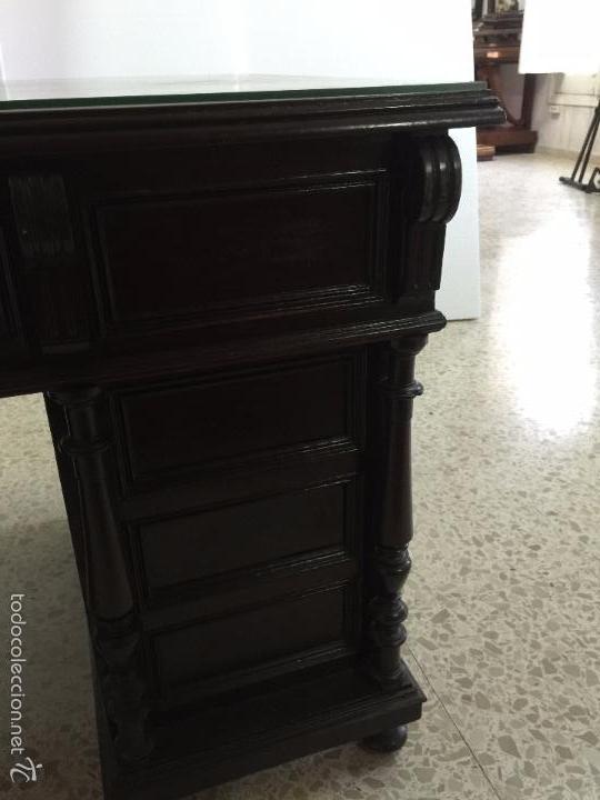 Antigüedades: Mesa De Despacho - Foto 22 - 72442343