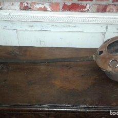 Antigüedades: CALIENTA CAMAS DE COBRE ANTIGUO. Lote 72446255