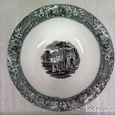 Antigüedades: FUENTE PALANGANA EN LOZA DECORADA SIGLO XIX SAN JUAN DE AZNALFARACHE R. RODRIGUEZ Y CIA SEVILLA. Lote 72453479