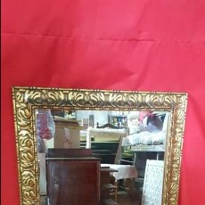 Antigüedades: ESPEJO DORADO, ANTIGUO.. Lote 64463911