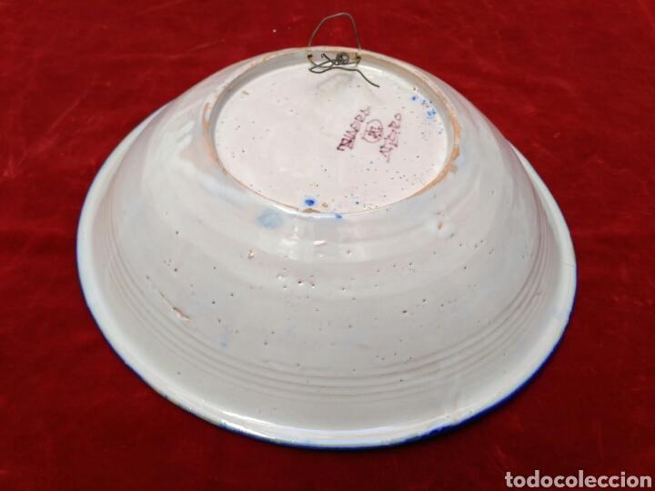 Antigüedades: Plato de loza vidriada del siglo XX - Foto 5 - 72462387