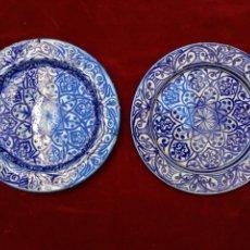 Antigüedades: PLATOS DE LOZA VIDRIADA DEL SIGLO XX. Lote 72463033