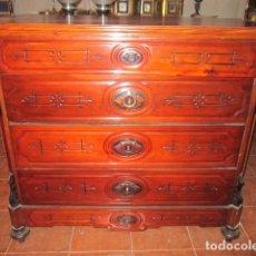 Antigüedades: COMODA DE DITARA S. XIX, EN CAOBA.. Lote 27371881