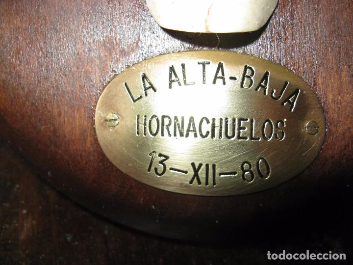 Antigüedades: TROFEO DE CAZA CIERVO VENADO DE DIEZ PUNTAS LA ALTA-BAJA HORNACHUELOS - Foto 2 - 72604223