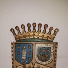 Antigüedades: ESCUDO MADERA. Lote 72645051