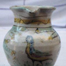 Antigüedades: JARRITA ANTIGUA EN CERAMICA DE EL PUENTE DEL ARZOBISPO ( TOLEDO ). Lote 72656083