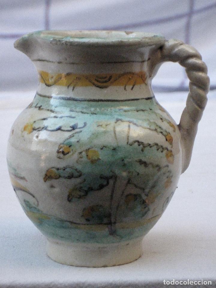 Antigüedades: JARRA ANTIGUA EN CERAMICA DE EL PUENTE DEL ARZOBISPO ( TOLEDO ) - Foto 2 - 72656083