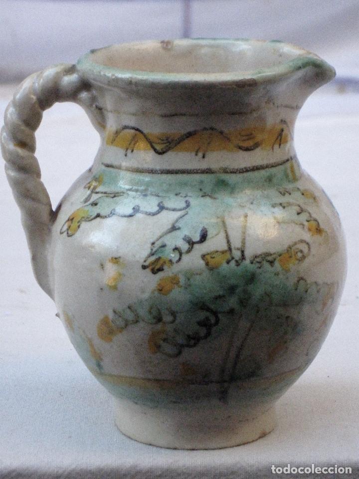 Antigüedades: JARRA ANTIGUA EN CERAMICA DE EL PUENTE DEL ARZOBISPO ( TOLEDO ) - Foto 3 - 72656083