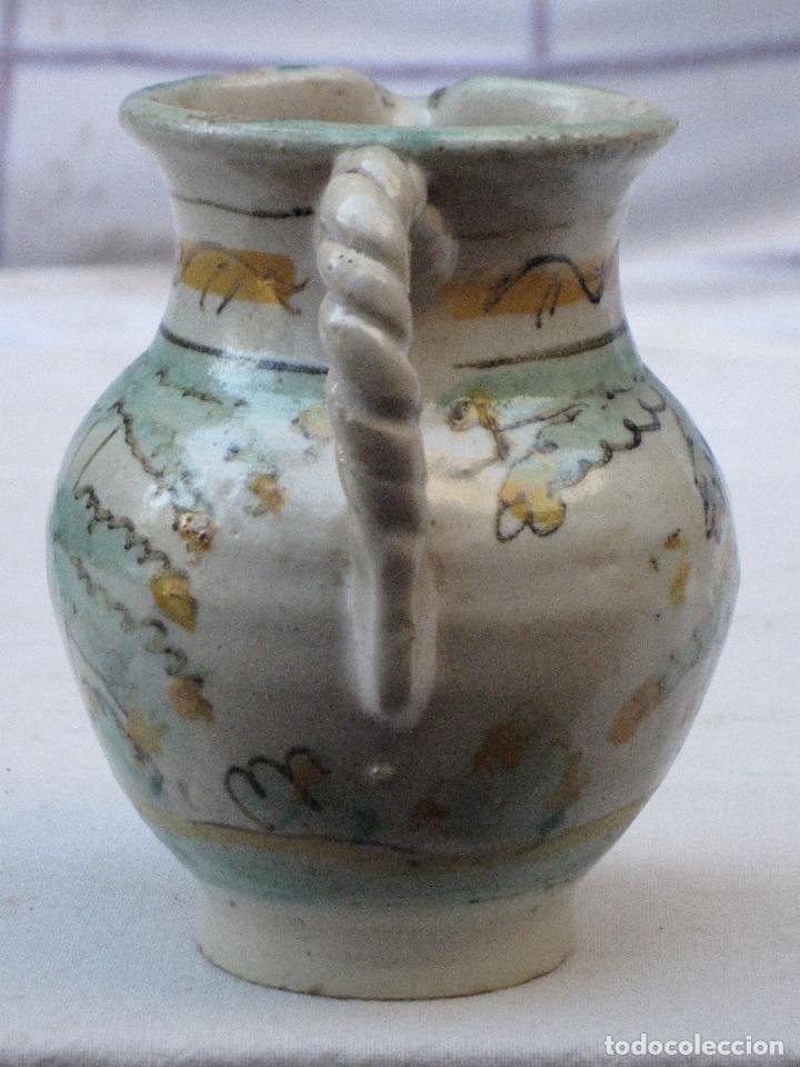 Antigüedades: JARRA ANTIGUA EN CERAMICA DE EL PUENTE DEL ARZOBISPO ( TOLEDO ) - Foto 4 - 72656083