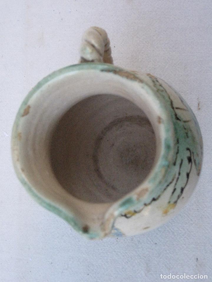Antigüedades: JARRA ANTIGUA EN CERAMICA DE EL PUENTE DEL ARZOBISPO ( TOLEDO ) - Foto 6 - 72656083