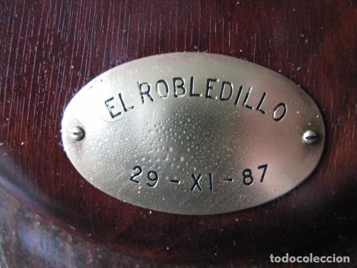 Antigüedades: TROFEO DE CAZA CIERVO VENADO , EL ROBLECILLO - Foto 4 - 72670199