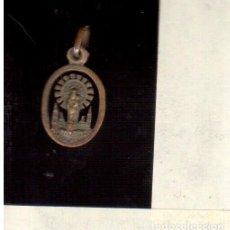 Antigüedades: MEDALLA DE LA VIRGEN DEL PILAR LA QUE VES . Lote 72685035