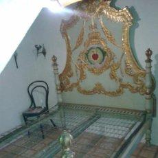 Antigüedades: CAMA DE OLOT DEL SIGLO XIX. Lote 87148438
