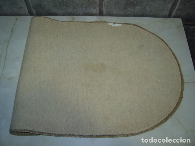 Antigüedades: TAPETE BROCADO PASAMANERIA. - Foto 5 - 72704647