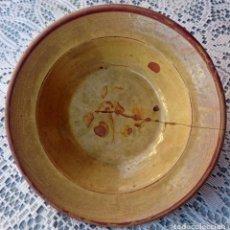 Antigüedades: PLATO CERAMICA CATALANA. Lote 72708331