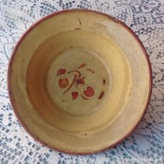 Antigüedades: PLATO DE CERAMICA CATALAN. Lote 72710775