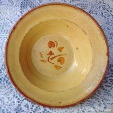 Antigüedades: PLATO DE CERAMICA CATALAN. Lote 73815391