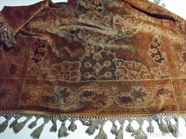 Antigüedades: TAPETE ANTIGUO MANTEL - Foto 6 - 72719355