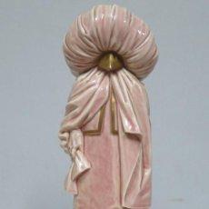 Antigüedades: BONITA FIGURA DE PORCELANA DE ALGORA. CARNAVAL VENECIA. Lote 72758755