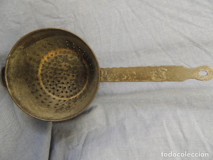 Antigüedades: ANTIGUO COLADOR - Foto 3 - 72768971