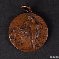 Antigüedades: MEDALLA HOMENATGE DE LA SOLIDARITAT CATALANA 1906. Lote 72779919