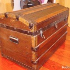 Antigüedades: BAUL MADERA. Lote 72818427