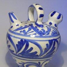 Antigüedades: BOTIJO CERÁMICA DE MANISES . Lote 72823919
