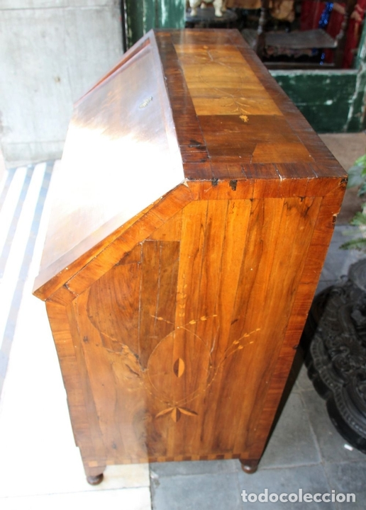 Antigüedades: CANTERANO MALLORQUÍN REDUCIDO. MADERA DE NOGAL. SIGLO XVIII. - Foto 9 - 72843579