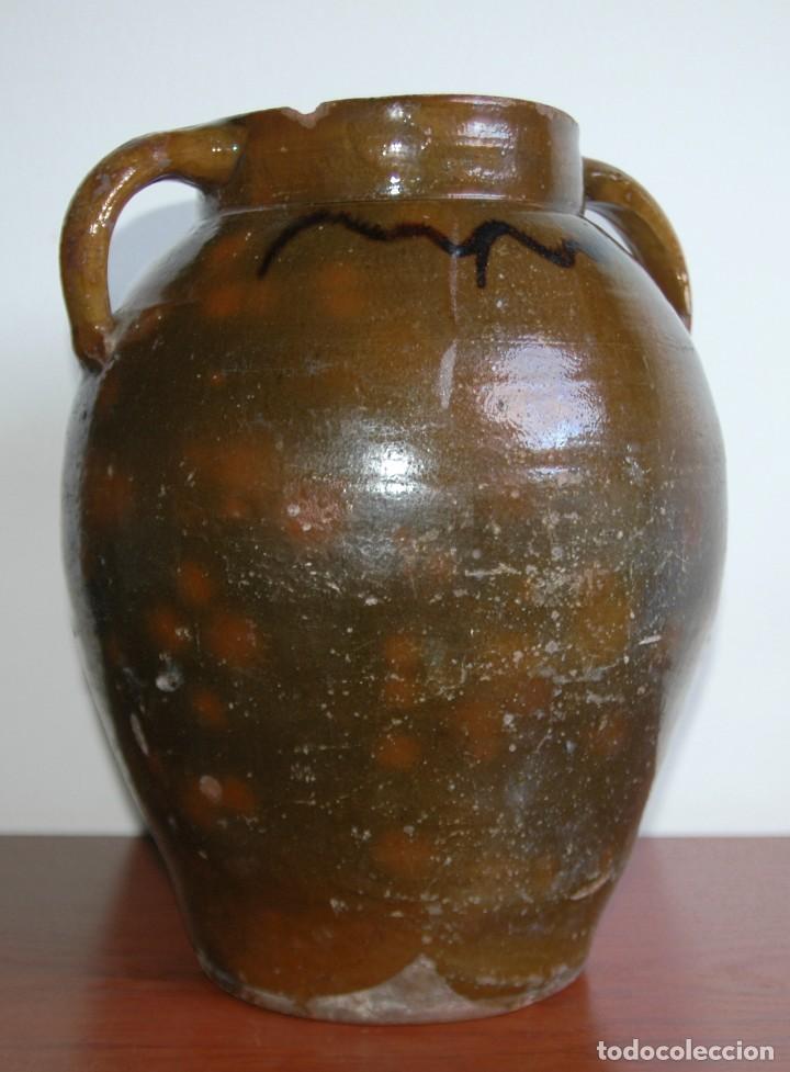 C069.- ORZA EN CERAMICA POPULAR Y DE PRINCIPIOS DEL S. XX (Antigüedades - Porcelanas y Cerámicas - Teruel)