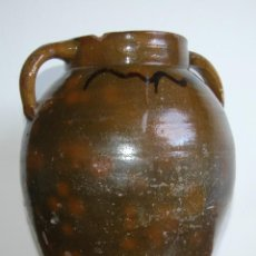 Antigüedades: C069.- ORZA EN CERAMICA POPULAR Y DE PRINCIPIOS DEL S. XX. Lote 72856415