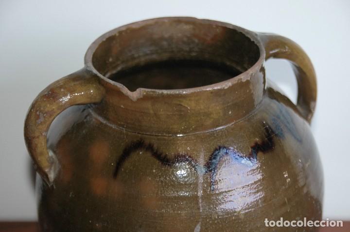 Antigüedades: C069.- ORZA EN CERAMICA POPULAR Y DE PRINCIPIOS DEL S. XX - Foto 2 - 72856415